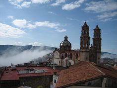 A Town Above the Clouds - Taxco Guerrero, Mexico
