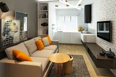 It's easy to focus on functionality when the kitchen is a separate room. But when it's part of an open floor plan and exposes itself to the living room, th