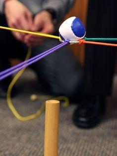 Beim Balltransport zeigt sich, wie gut die Teilnehmer aufeinander eingehen können.