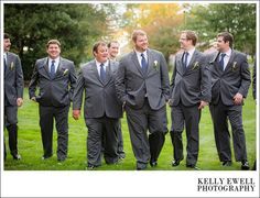 Groomsmen photos from a classic, pink and navy, preppy wedding at Belmont Country Club in Ashburn, Virginia | Kelly Ewell Photography | Leesburg VA Wedding Photographer