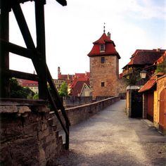Rothenburg ob der Tauber, Bavaria, Germany 9/10 We stayed here and walked on this magnificent walled city path  :)