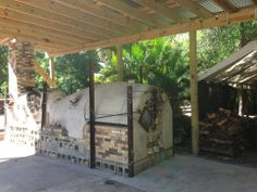 Justin Lambert's smokeless anagama, FL  Link through for videos of Justin's kiln being fired.