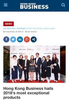 MsEnvy Press ~ Hong Kong Business Magazine 2018 April