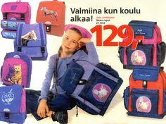 Cassinna Oy ja Akowest Oy - lasten kolureppumallistojen ja liikelahjalaukkujen  suunnittelu