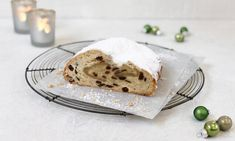 Marzipanstollen Rezept | Dr. Oetker Christmas Cookies, Banana Bread, Nom Nom, Cake Recipes, Pudding, Xmas, Desserts, Food, Cooking