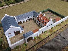 and Napoleonic gaming: Waterloo buildings part 5 - La Haye Sainte 6 Bedroom House Plans, Dream House Plans, House Layout Plans, House Layouts, Bataille De Waterloo, Minecraft Houses, Minecraft Blueprints, La Haye, Farmhouse Floor Plans