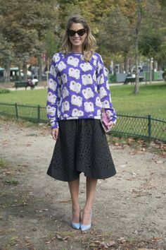 Pin for Later: 13 Timeless Autumn Pieces That Belong in Every Woman's Wardrobe A Long Skirt