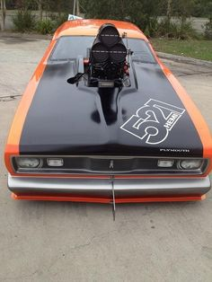 Plymouth Hemi different scoop set up. Maserati, Bugatti, Lamborghini, Ferrari, Hot Rides, Us Cars, Drag Cars, American Muscle Cars, Car Humor