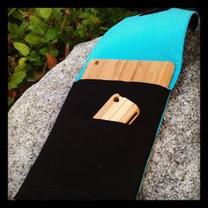 Eco-friendly iPad case - 100% recycled felt with bamboo cases for iPad and iPhone