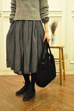 Autumn girl's mind of the sky ··· maison de soil: Fashion Mask, 80s Fashion, Korean Fashion, Fashion Dresses, Womens Fashion, Frock Fashion, Swag Fashion, Fashion Wear, Modest Fashion