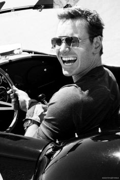 Michael Fassbender. Again, best smile! Mike in GQ magazine November 2013.