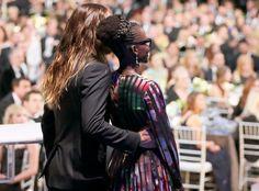 Jared Leto and Lupita Nyong'o at SAG Awards
