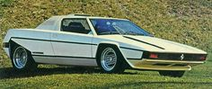 """Ferrari 308 GT Rainbow. Could only be purchased from a catalogue and way before the net. Mechanical retracing hard roof, motoring writers of the day said """"it reminds them of a garbage compactor"""". A bit ahead of it's time??"""