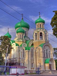 The Romanov Church in Vilnius, Lithuania.