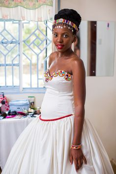 From Karungu With Love :: Sheilah & Michel's Story Kenyan Wedding, African Wedding Attire, African Beauty, African Women, African Fashion, Bride Gowns, Wedding Gowns, African Traditional Wedding Dress, African Wear Dresses