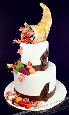 Happy Thanksgiving! by Design Cakes, via Flickr