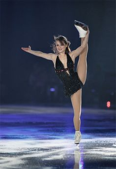 Sasha Cohen.I love watching ice skating.Please check out my website thanks. www.photopix.co.nz