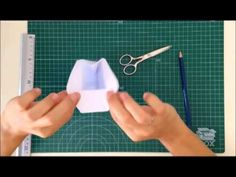 Cómo hacer una bolsita de papel - TUTORIAL Scrapbook