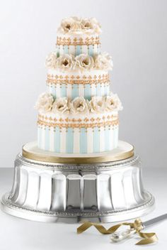 the cake stand throws me off...but the cake is amazing looking