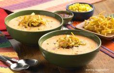 Corn Soup with HERDEZ® Salsa Chilpotle