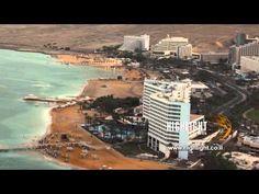 Aerial footage of Israel
