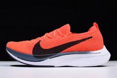 43556dfc98da3 Nike Vaporfly Flyknit 4% Bright Crimson Black AJ3857-601 Cheap For Sale