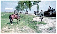 German army on the move in Europe. 1940