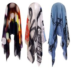 stunning silk scarves, digitally printed scenes from beautiful cities... by Good&Co (New Zealand-born, Sydney based designer Lillie Toogood)