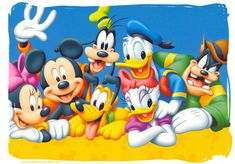 fotos de mickey mouse bebe y sus amigos