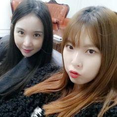 Nine Muses Erin & Hyemi