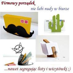 Listowniki i wizytowniki, które każdy chciałby mieć na swoim biurku :)