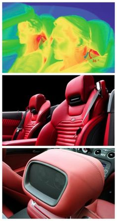 Luxury Lifestyle : 10 Ridiculously Expensive Car Options Check out the lavish Mercedes-Benz Airsc Weird Cars, Cool Cars, Mercedes Benz, Jeep Seats, Ferrari Car, Mode Of Transport, Mechanical Design, Expensive Cars, My Ride