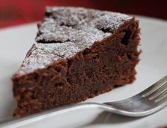 Chocolate Chestnut Cream Cake (easy and g-f)