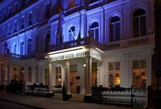 Lancaster Gate Hotel, London, United Kingdom. $132. The hotel has an enviable location with major public transportation services on its doorstep and easy access to all the famous landmarks. Hyde Park and Kensington Gardens are just across the road, and Queensway Underground Station is a 5 minute walk away.