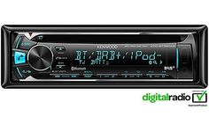 £119 image of Kenwood KDC-BT39DAB Car Stereo with Bluetooth hands-free