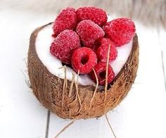 #raspberries #coconu