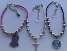 denario pulsera dije porfis o cruz x 10. bautismo comunion