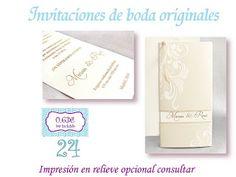 Invitaciones de boda Getafe, para vuestra boda