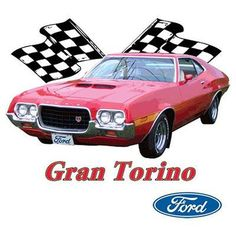 Ford Red Gran Torino