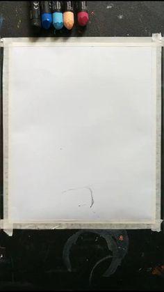 Oil Pastel Drawings Easy, Oil Pastel Paintings, Oil Pastel Art, Art Drawings Sketches Simple, Easy Drawings, Drawing Ideas, Canvas Painting Tutorials, Diy Canvas Art, Crayon Art