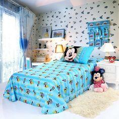 Mickey Mouse Sky Blue Style2 Disney Sheet Set