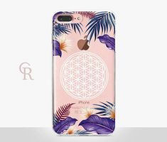 Flower Of Life Clear iPhone 7 Plus Case  Clear Case  For