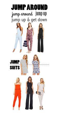 take a bite: Jump Around // jumpsuit style