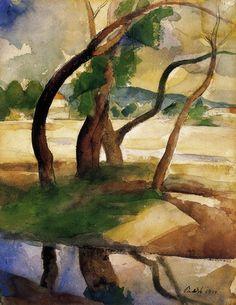 Trees 1924  Patkó, Károly