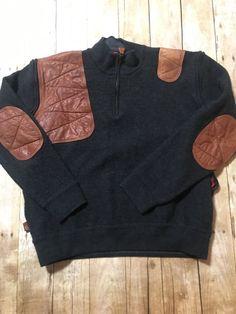 b03cd07a7310d1 Braeval Artemis Sweater Charcoal Grey Skye Boatman Boiled Australian Wool  XL
