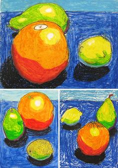 3rd Grade Still-Lifes by ramahughes, via Flickr