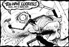 johnny the homicidal maniac. comics | Tumblr