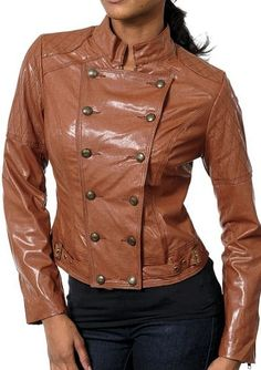 Faux Leather Steampunk Jacket