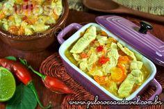 Mais uma deliciosa dica de #almoço de hoje é o leve e saudável Filé de Frango ao Molho de Iogurte!  #Receita aqui: http://www.gulosoesaudavel.com.br/2013/06/19/file-frango-molho-iogurte/