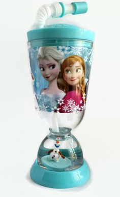Disney Frozen Snow Globe Tumbler with Straw - Elsa, Anna, Olaf, and Sven Disney,http://www.amazon.com/dp/B00IUXQ6BG/ref=cm_sw_r_pi_dp_Njpktb13ES1ZP29C